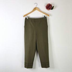DENIM & CO Twill Crop Pants